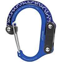 HEROCLIP 登山扣夹和挂钩(中号)   适用于露营、背包和车库。