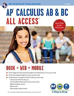"""AP® Calculus AB & BC All Access Book + Online (Advanced Placement (AP) All Access) (English Edition)"",作者:[Stu Schwartz]"