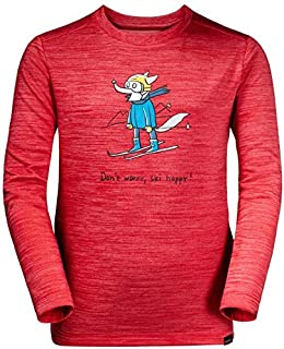Jack Wolfskin 儿童滑雪狼运动衫
