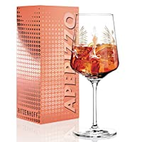 RITZENHOFF Aperizzo Aperitifglass by Alice Wilson,水晶玻璃制成,600毫升,含高贵金含量
