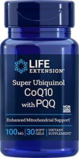 Life Extension - Super Ubiquinol CoQ10与BioPQQ 100 镁。30软胶囊