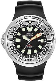 Citizen Men's BJ805008E EcoDrive Professional Diver Black Sport W