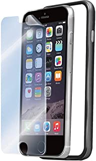 Celly Rubberize Edges Bumper case for iPhone 6 with Screen Protector - Black