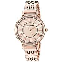 Anne Klein 女士手链手表,玫瑰金