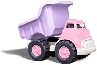 Green Toys 翻斗车玩具,粉色