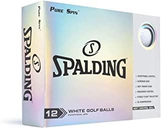 Nitro Spalding Pure Spin 12 球装 - 白色