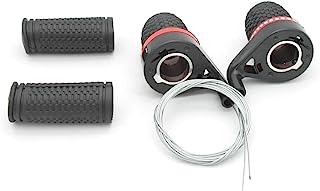 HONG111 3X7 Speed Twist Grip 换档装置兼容自行车手柄移位器,适用于Shimano 自行车山地自行车带手柄