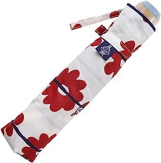 小川(Ogawa) 折叠伞 雨晴两用 UV 处理防水,07 リトルミイ/花ボーダー,折りたたみ傘