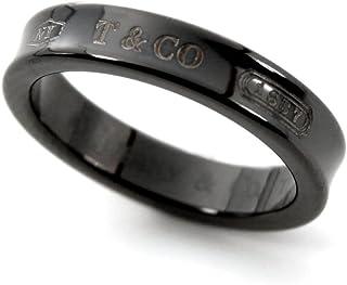 [ティファニー] TIFFANY チタン 1837 ナローリング ミッドナイト ブラックチタン 指輪 【並行輸入品】