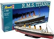 Revell 模型套件 泰坦尼克号 1:700,Level 4,细节复刻,05210