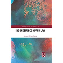 Indonesian Company Law (Routledge Research in Corporate Law) (English Edition)
