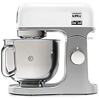 Kenwood 凯伍德 kMix KMX750WH 厨师机,5L 不锈钢搅拌碗,去风险系统,金属外壳,1000瓦,含3件…