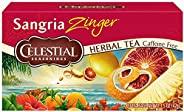 Celestial Seasonings 调味凉茶,桑格利亚汽酒,20支(6包)