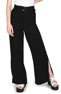 A√X Armani Exchange 女式阔腿腰带长裤