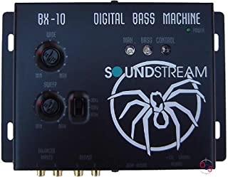 Soundstream BX-10 数字低音重建处理器,带遥控,黑色