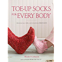 Toe-Up Socks for Every Body (English Edition)