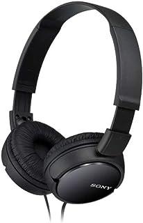 Sony 索尼 MDR-ZX110 折叠式耳机,黑色
