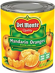 Del Monte Mandarin Oranges in Light Syrup, 8.25 Ounce (Pack of 12)
