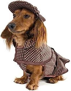 DELIFUR 狗狗侦探服装 夏洛克·福尔摩斯狗狗服装 侦探犬(小号)