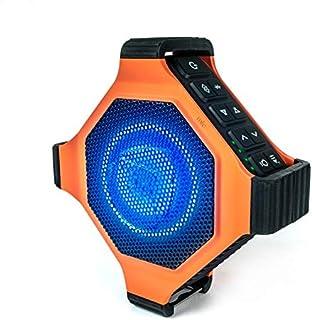 ECOXGEAR EcoEdge Plus 坚固防水浮动便携式蓝牙无线 20 瓦智能音箱,带开瓶器和 LED 派对灯GDI-EXEGPL400