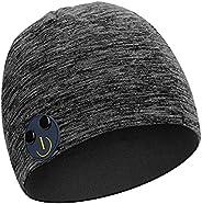 帽子蓝牙耳机,可调节蓝牙耳机,无线智能扬声器帽,户外运动的*佳礼物,男女(灰色-2)