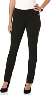 Rafaella 女式娇小款 PONTE 舒适修身长裤