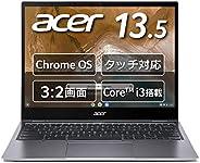 Google Chromebook Acer 笔记本电脑 Spin 713 CP713-2W-A38Q/E 13.5英寸 360°铰链 英语键盘 Core i3-10110U 8GB内存 128GB eMMC 搭载触屏
