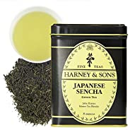 Harney & Sons 日本煎茶綠茶,散裝 8盎司(約226.80克