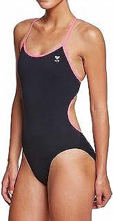 TYR 女式纯色三位体紧身泳衣