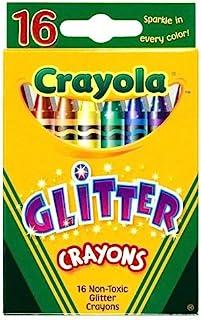 Crayola 52-3716 - 闪光 16 蜡蜡笔