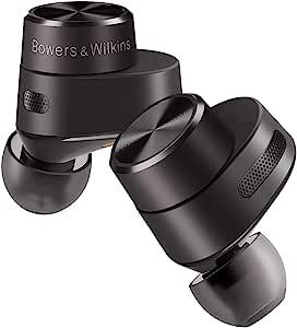 Bowers & Wilkins FP42412 PI5 True 无线降噪入耳式耳机 - 炭黑色,小号