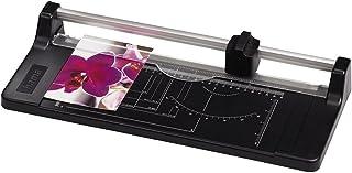 Hama 切纸机 带卷刀片 ( 切割机 带 5 片性能 , 切割机 至 DIN A4 , 用于纸张、铝箔和照片) 黑色