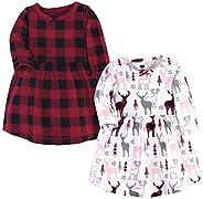 Hudson 婴儿女童棉质连衣裙