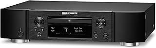 Marantz ND8006 Low-Profile 4 合 1 数字媒体播放器:CD 播放器、音乐流带、DAC 和前置放大器 | 带 Airplay 2、蓝牙和 HEOS | 亚马逊 Alexa 兼容
