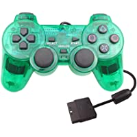 ForBEST PS2 控制器有线控制器,双减震双振动电机游戏手柄 PS2 控制器 适用于索尼 Playstation…