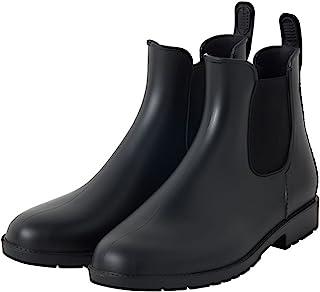 Wpc. 松紧带雨靴 黒 RB-7006 Large RB-7006