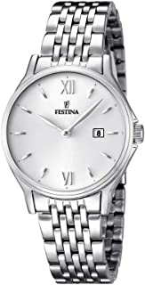 FESTINA Acero Clasico 女式模拟石英手表不锈钢 - F16748-2