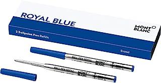 梦布朗 圆珠笔 替换装(B)2支 太平洋蓝 MB116214 正规进口商品 parent 太平洋蓝色