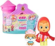 Cry Babies 魔法眼泪故事世界 - 故事之家系列 | 10 个惊喜配件,惊喜娃娃 | 适合 3 岁以上儿童