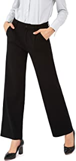 Bamans 瑜伽连衣裙裤,高腰锻炼紧身裤,女式,办公室修身衬里打底裤,街型