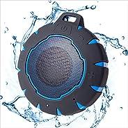 iJoy Bath Bomb 高级防水蓝牙无线浮动扬声器 | 淋浴扬声器 | 户外室内坚固防水防尘扬声器 | 7 小时播放时间 | 我们*好的防水扬声器(黑色)