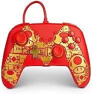 *版版 Nintendo Switch PowerA 控制器 - 金色Mgamepad有线视频游戏控制器游戏控制器 [