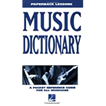 Music Dictionary: Paperback Lessons (English Edition)