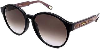 Chloé CE762S 001 黑色 Willow 圆形太阳镜镜片 2 类尺寸 57 毫米