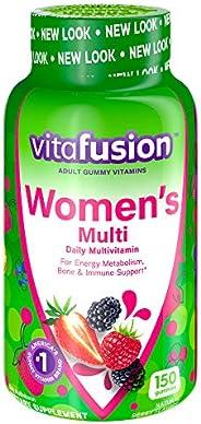 Vitafusion 女性软糖维生素,150粒