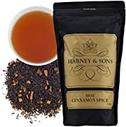 Harney & Sons Fine Teas热肉桂香料散茶, 16 盎司(约4