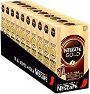 NESCAFÉ Gold Original, löslicher Bohnenkaffee aus erlesenen Kaffeebohnen, koffeinhaltiges Instant-Pulver, voll