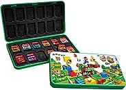 DAHAKII 24 游戏卡夹存储盒 适用于任天堂 Switch Switch 游戏盒 游戏卡夹保护套 (H)