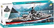 COBI 3085,《魔兽世界》,战舰 Tirpitz 1:300 比例