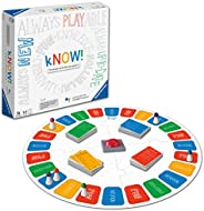 Ravensburger 26071 Know wusste es 交互式棋盘游戏 适用于儿童和成人年龄 10 岁以上 - Always-up to -date 问答游戏 由 Google Assistant 提供